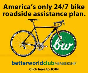 The only nationwide bicycle roadside assistance.