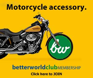 Motorcycle accessory.