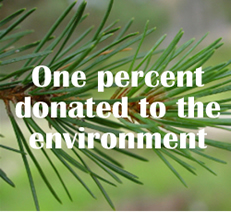 1% Donated to the Environment
