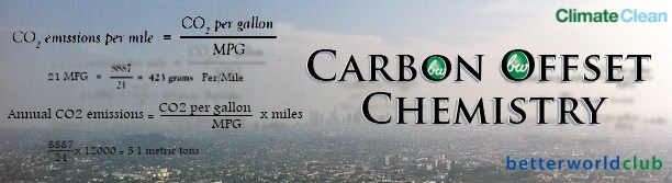 Better World Club Carbon Offset Chemistry Banner