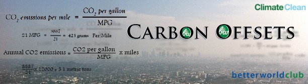 Better World Club Carbon Offsets Banner