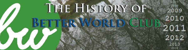 Better World Club History Of BWC Banner